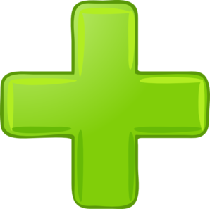 A small green Plus symbol